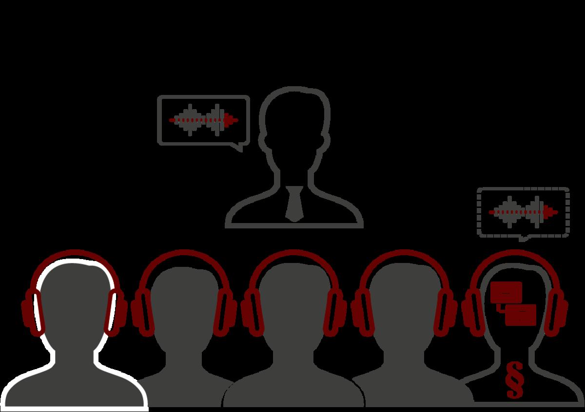 LT Lawtank - Dolmetschen im Rechtskontext - Führungen, kleinere Treffen - Vertragsverhandlungen, Schlichtungsverfahren, Mediationen, Beurkundungen, Schiedsgerichtsverfahren, Befragungen und Einvernahmen, M&A-Transaktionen, Vorträge