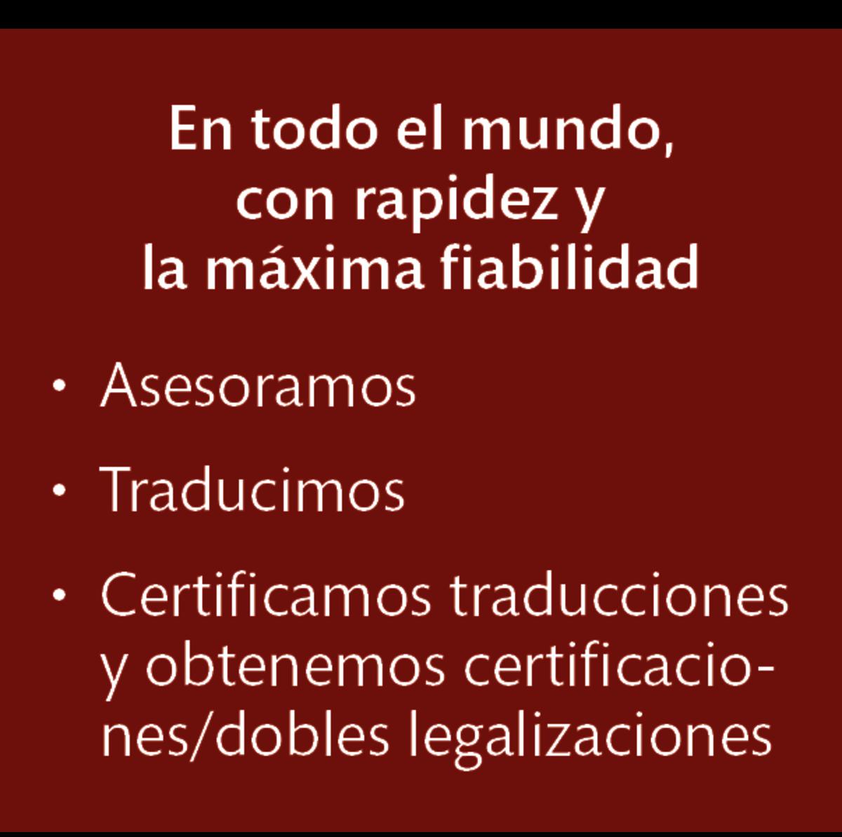 LT Lawtank - Traducciones juradas - En todo el mundo, con rapidez, la máxima fiabilidad