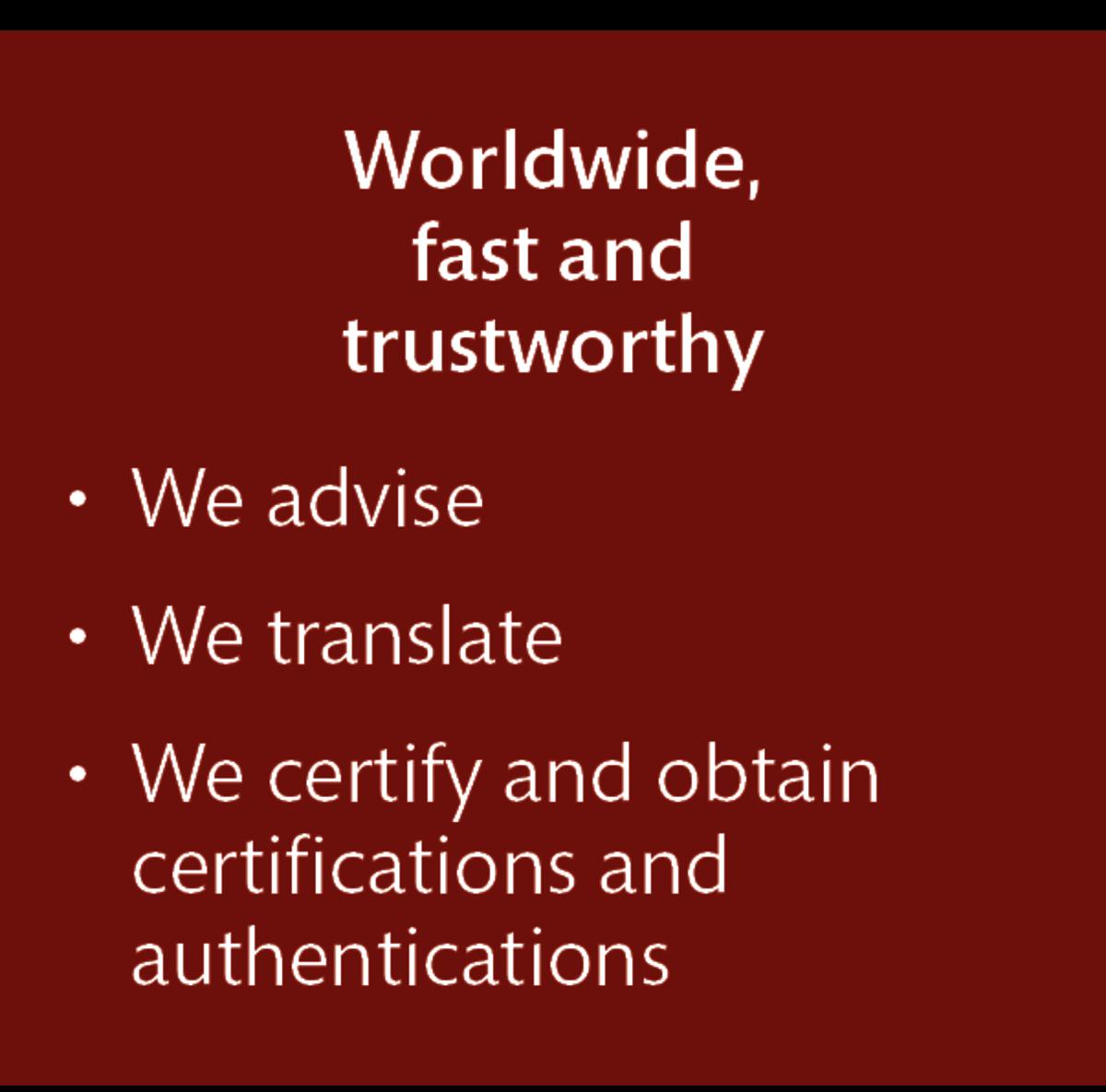 LT Lawtank - Certified translations - Worldwide, fast, trustworthy