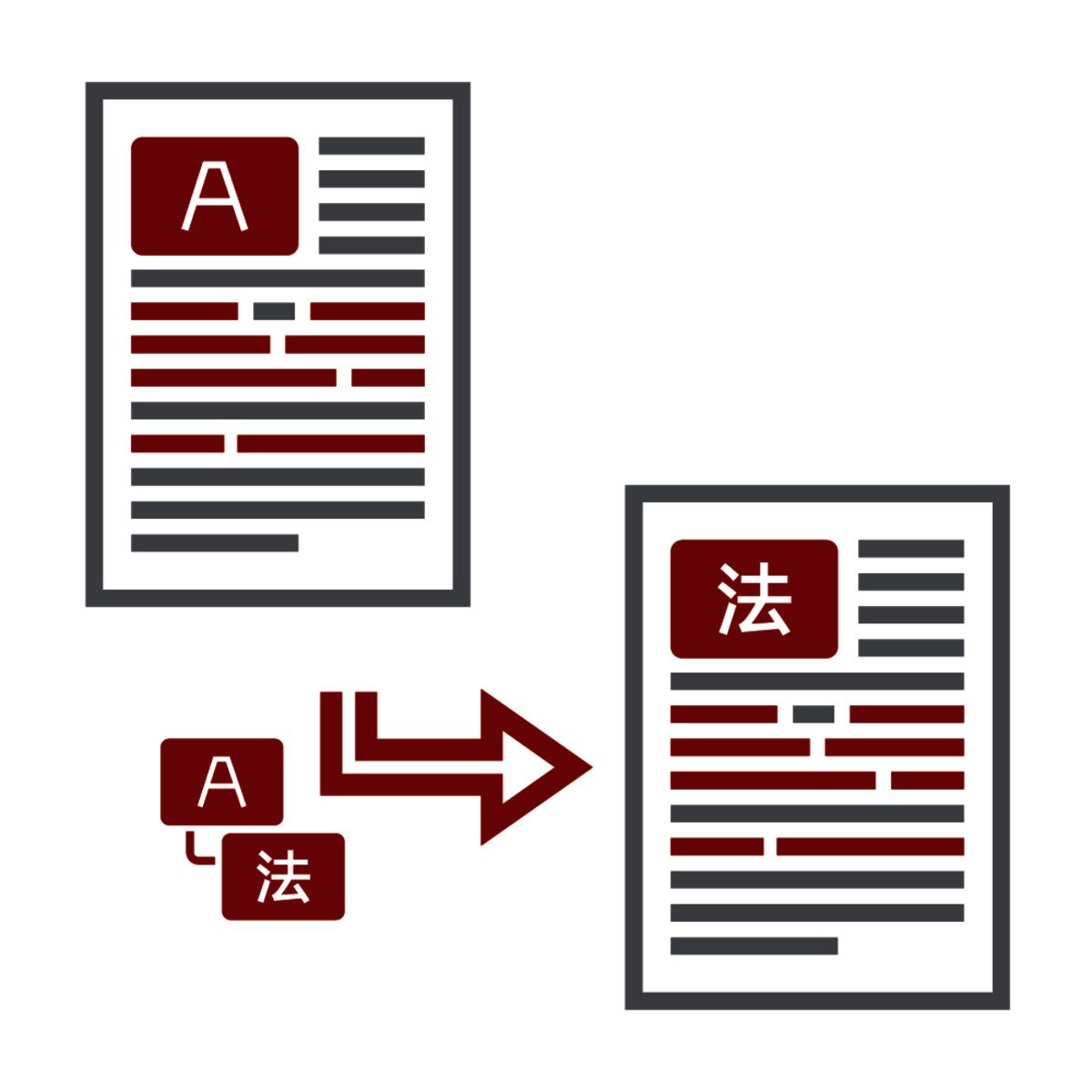 LT Lawtank - Anpassung juristischer Übersetzungen